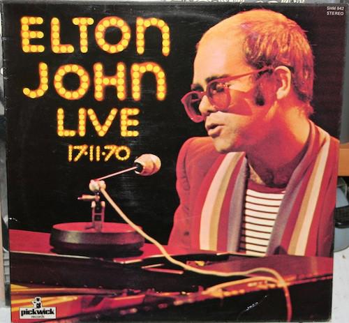 Elton John Elton John Live 17-11-70