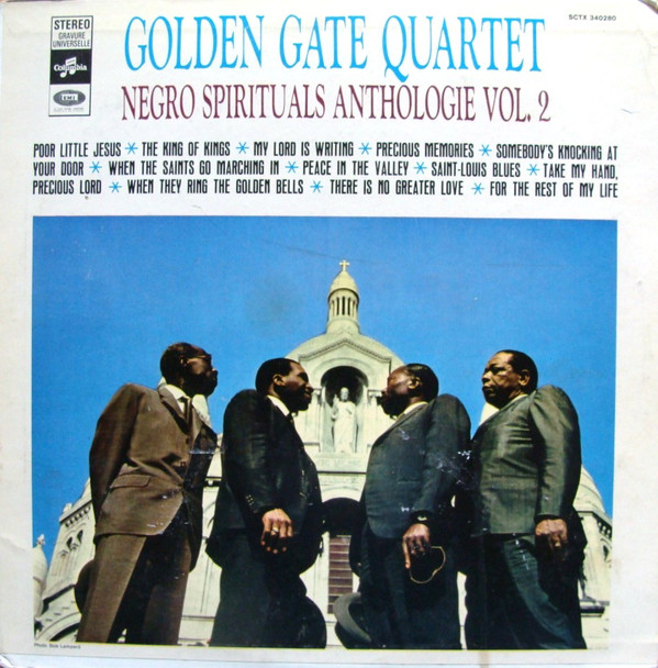 The Golden Gate Quartet - Negro  Spirituals Anthologie Vol. 2 (LP, Comp)