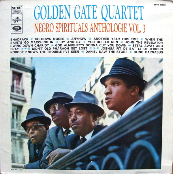 The Golden Gate Quartet - Negro Spirituals Anthologie Vol. 3 (LP, Comp, RE)