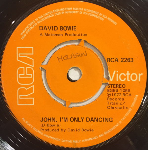 David Bowie - John, I'm Only Dancing / Hang On To Yourself (7