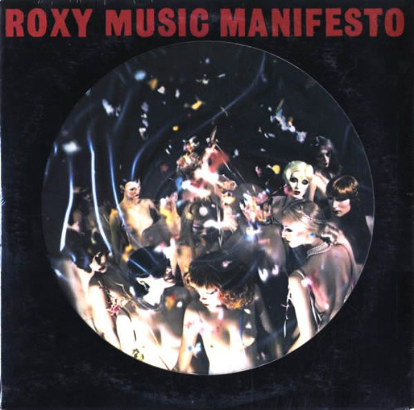 Roxy Music - Manifesto (LP, Album, Pic)