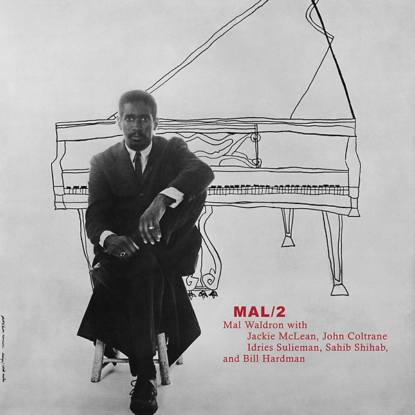 Mal Waldron With Jackie McLean, John Coltrane, Idrees Sulieman, Sahib Shihab , And Bill Hardman - Mal/2 (LP, Album, Mono, RE)