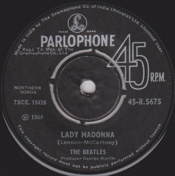 The Beatles - Lady Madonna (7