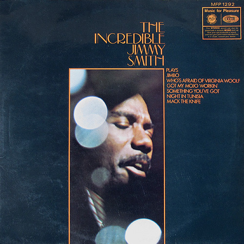 Jimmy Smith - The Incredible Jimmy Smith (LP, Album, RE)