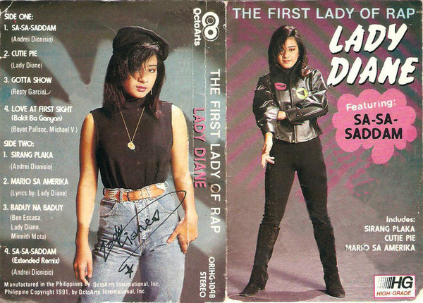 Lady Diane (3) - The First Lady of Rap (Cass, Album, RE)