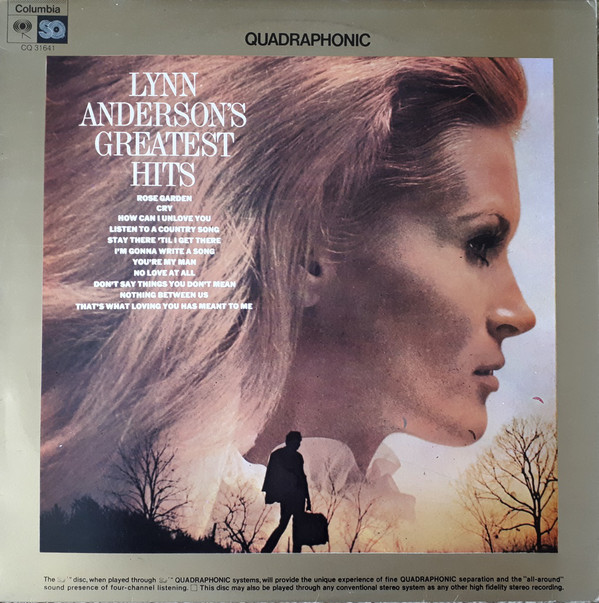 Lynn Anderson - Lynn Anderson's Greatest Hits (LP, Comp, Quad)