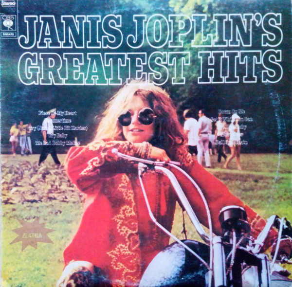 Janis Joplin - Janis Joplin's Greatest Hits (LP, Comp)