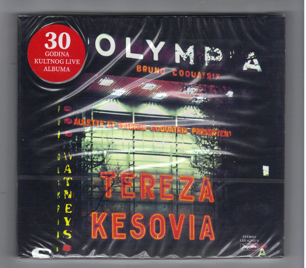 Tereza* - Live À L'Olympia - Paris (CD, Album, RE, Dig)