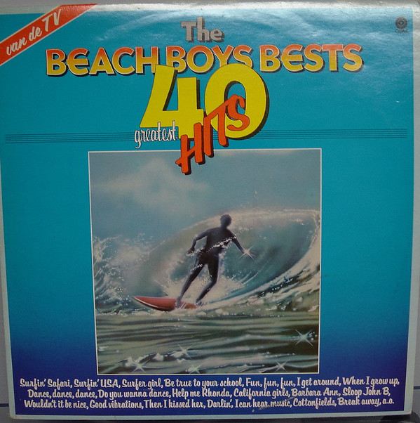 The Beach Boys - Bests 40 Greatest Hits (2xLP, Comp)