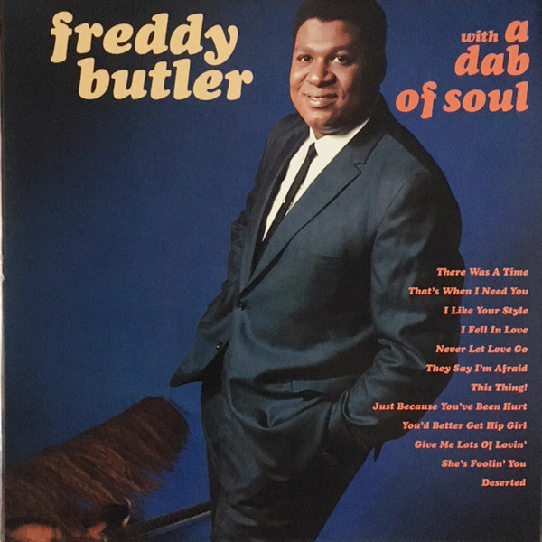 Freddy Butler - With A Dab Of Soul (LP, Album, RE)