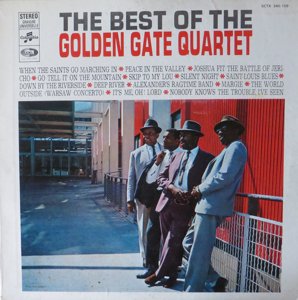 The Golden Gate Quartet - The Best Of The Golden Gate Quartet (LP, Comp)
