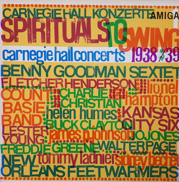Various - Spirituals To Swing - Carnegie Hall Concerts 1938/39 (1) (LP, Comp, Mono, RE)