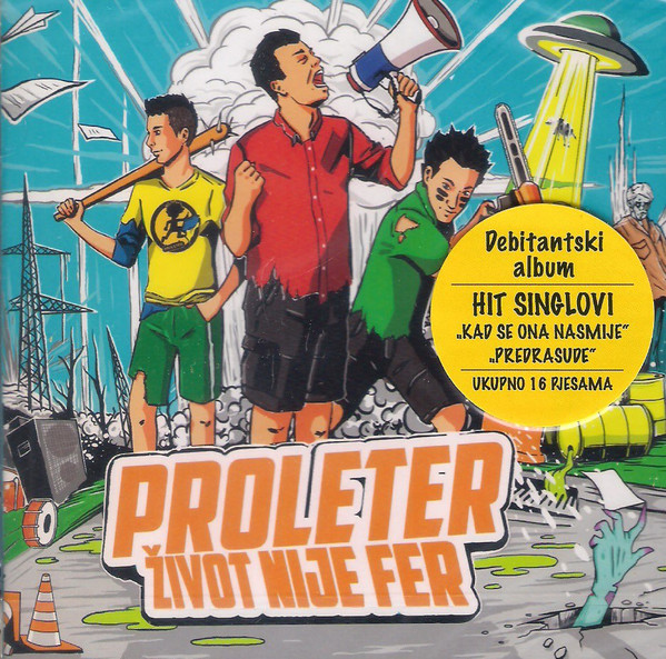 Proleter (2) - Život Nije Fer (CD, Album)