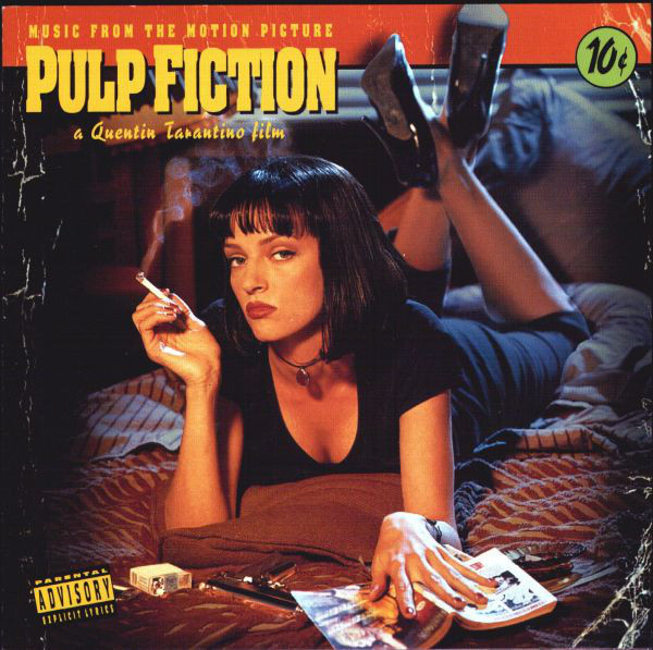 Various - Pulp Fiction (Music From The Motion Picture) (CD, Album, Comp, RE)
