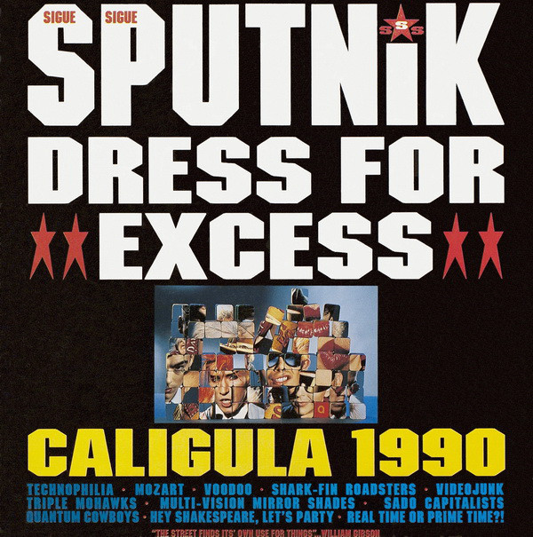 Sigue Sigue Sputnik - Dress For Excess (LP, Album)