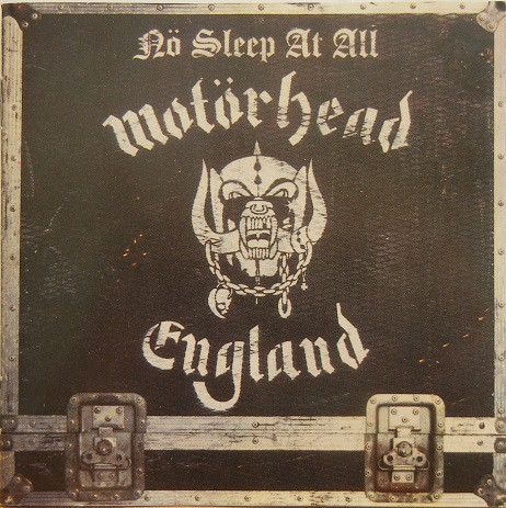 Motörhead - Nö Sleep At All (CD, Album, RE, RP)