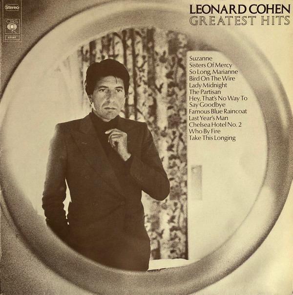 Leonard Cohen - Greatest Hits (LP, Comp, RE)