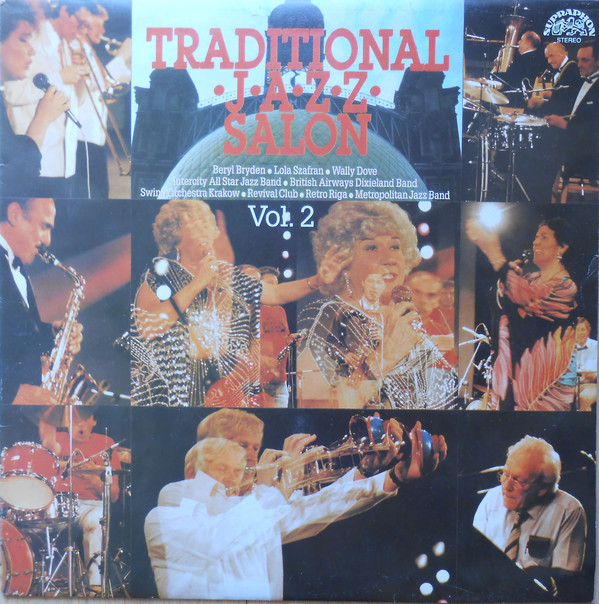 Various - Traditional Jazz Salon Vol.2 (LP, Comp)