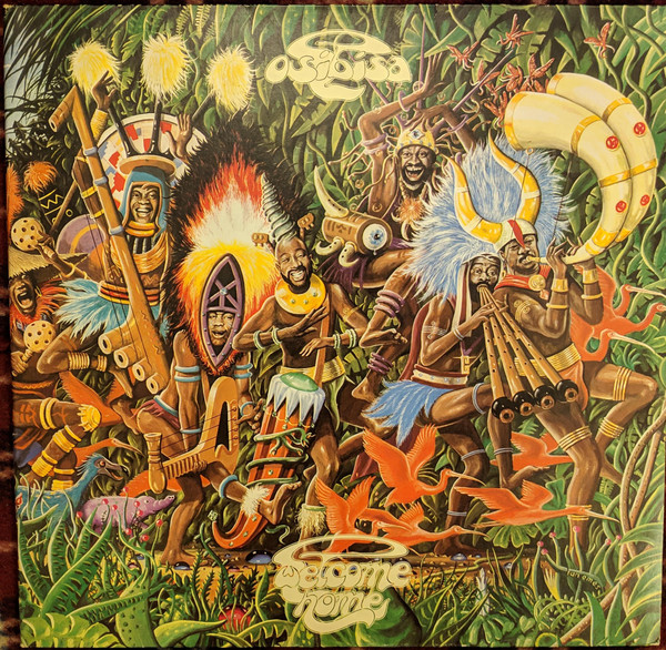 Osibisa - Welcome Home (LP, Album, Gat)