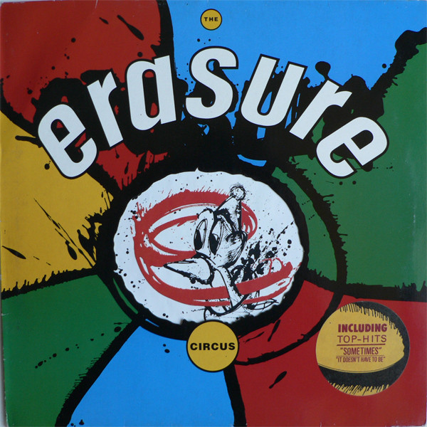 Erasure - The Circus (LP, Album)