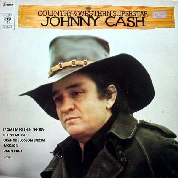 Johnny Cash - Country And Western Superstar (2xLP, Comp, Gat)