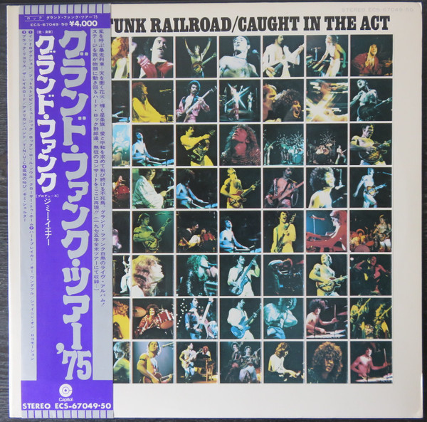 Grand Funk Railroad - Caught In The Act (2xLP, Album, Promo, Gat)