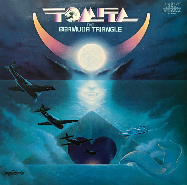 Tomita - The Bermuda Triangle (LP, Album)