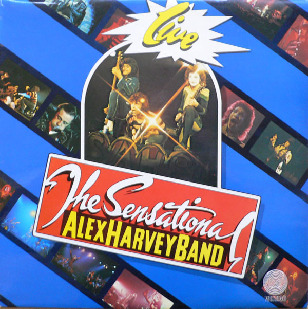 The Sensational Alex Harvey Band - Live (LP, Album)