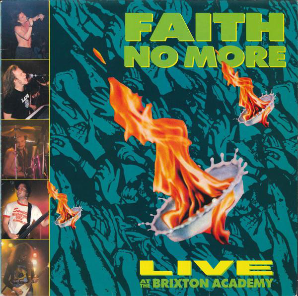 Faith No More - Live At The Brixton Academy (LP, Album)