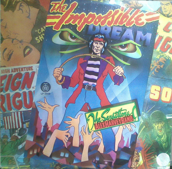 The Sensational Alex Harvey Band - The Impossible Dream (LP, Album)