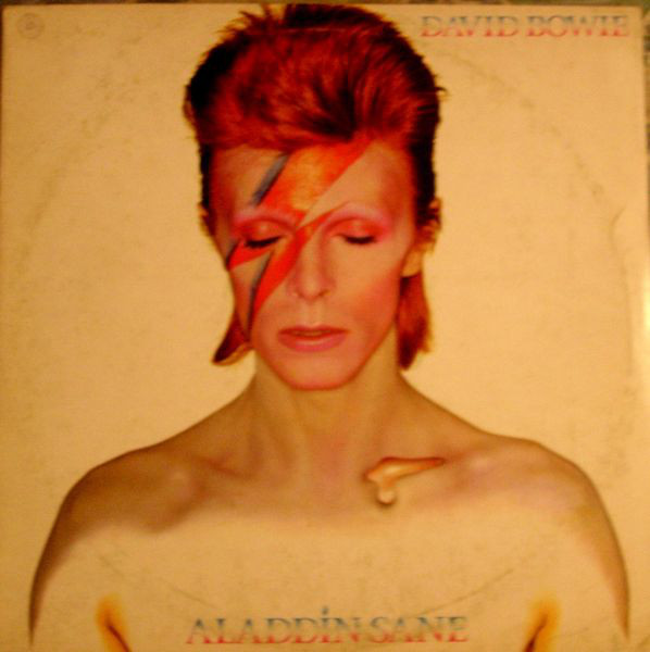 David Bowie - Aladdin Sane (LP, Album)