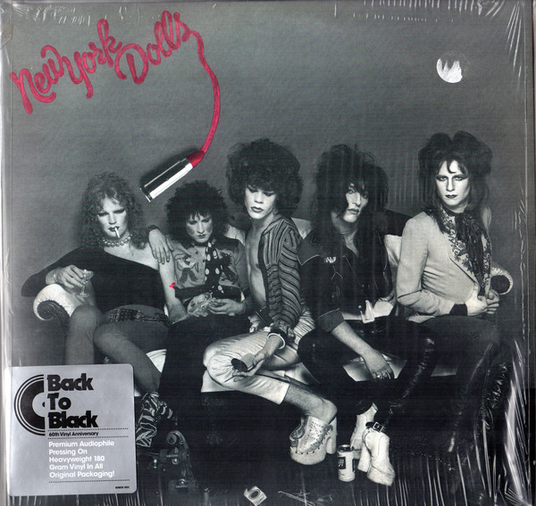 New York Dolls - New York Dolls (LP, Album, RE, RM, 180)