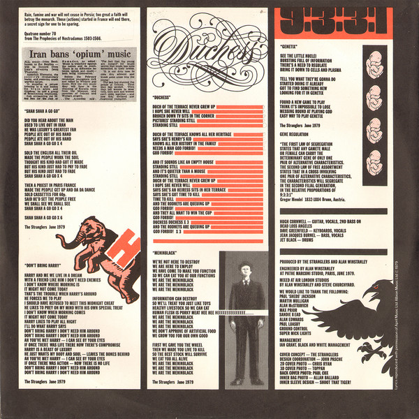 The Stranglers - The Raven (LP, Album)