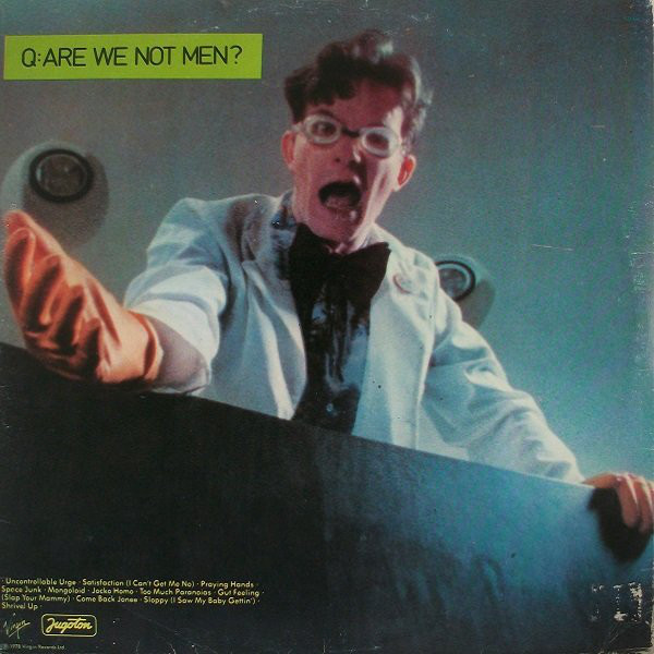 Devo - Q: Are We Not Men? A: We Are Devo! (LP, Album)
