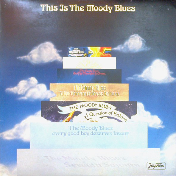 The Moody Blues - This Is The Moody Blues (2xLP, Comp, Gat)