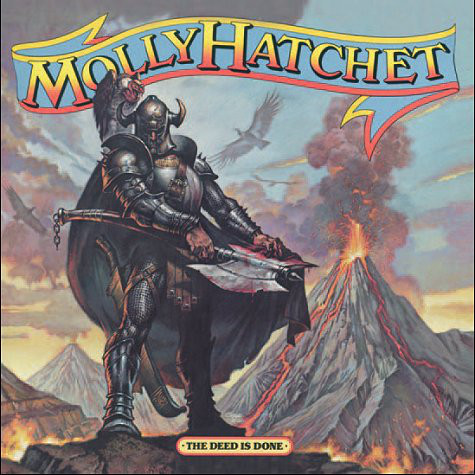 Molly Hatchet - The Deed Is Done (LP, Album)