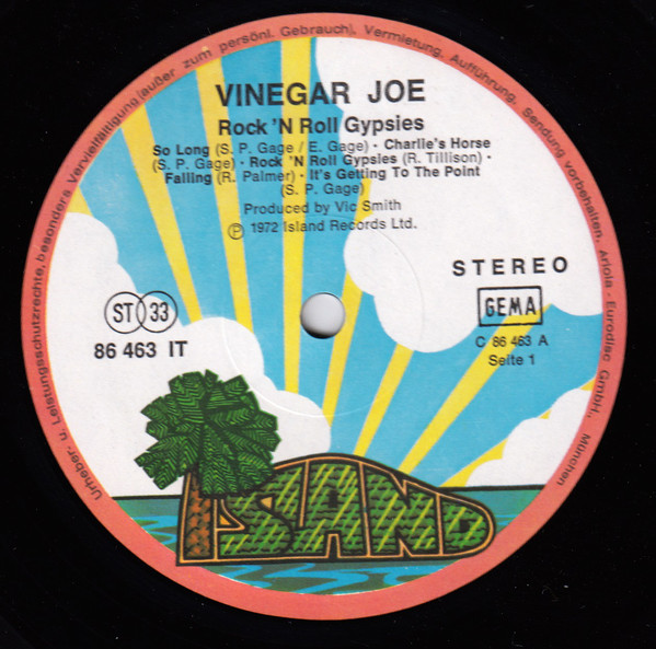 Vinegar Joe - Rock'n Roll Gypsies (LP, Album)