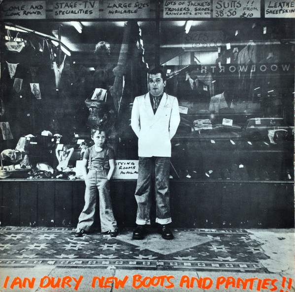 Ian Dury - New Boots And Panties!! (LP, Album)