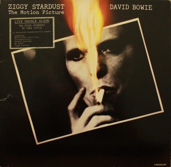 David Bowie - Ziggy Stardust - The Motion Picture (2xLP, Album)