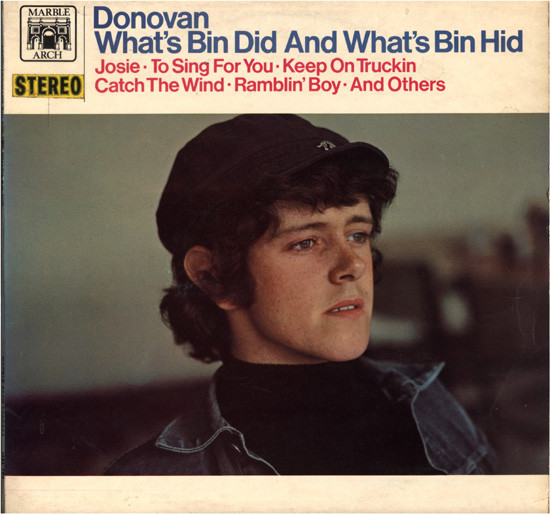 Donovan - What's Bin Did And What's Bin Hid (LP, Album, RE)