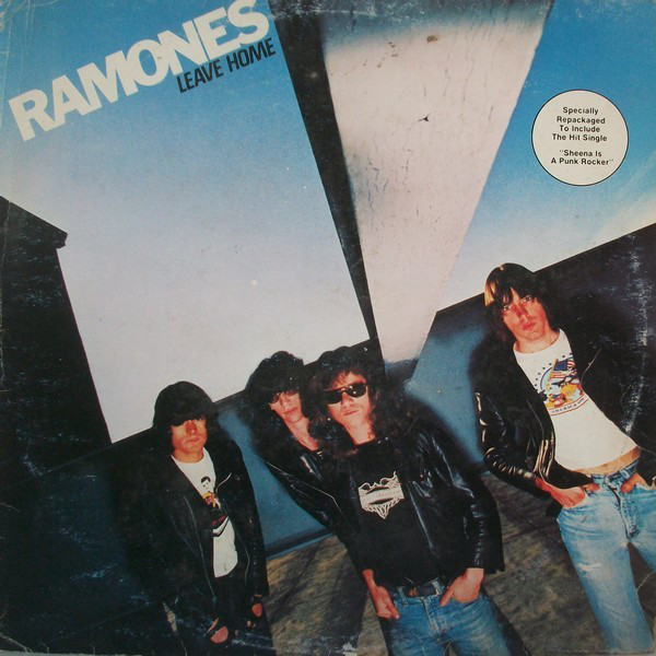 Ramones - Leave Home (LP, Album, RE)