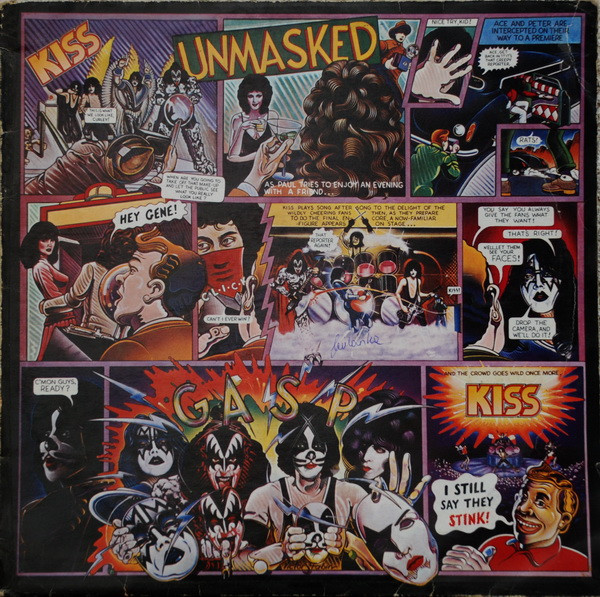 Kiss - Unmasked (LP, Album)