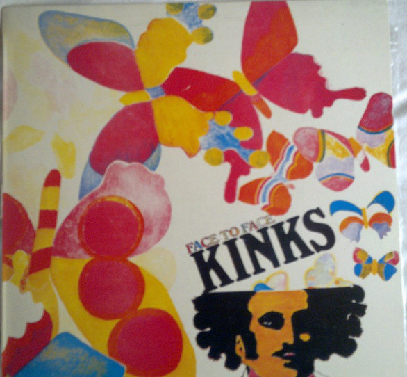 The Kinks - Face To Face (LP, Album, RE)