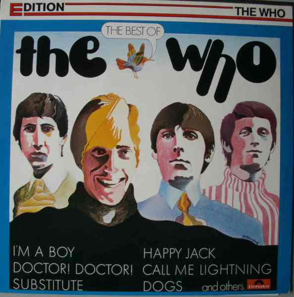 The Who - The Best Of The Who (LP, Comp)