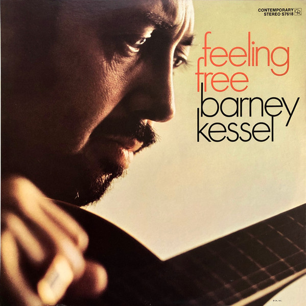 Barney Kessel - Feeling Free (LP, Album)