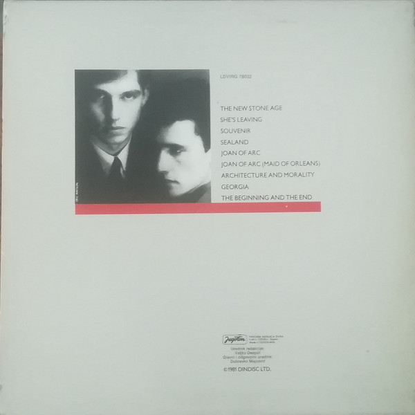 Orchestral Manoeuvres In The Dark - Architecture & Morality (LP, Album)