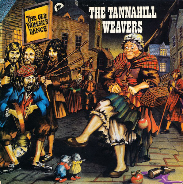 The Tannahill Weavers - The Old Woman's Dance (LP, Album, Gat)