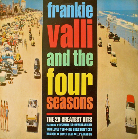 Frankie Valli And The Four Seasons - The 20 Greatest Hits (LP, Comp)