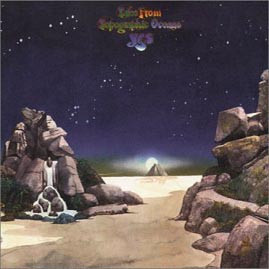 Yes - Tales From Topographic Oceans (2xLP, Album, Gat)