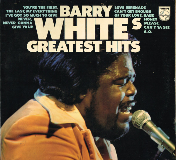 Barry White - Barry White's Greatest Hits (LP, Comp, Gat)